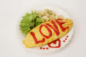 Moe+moe+omelette+rice